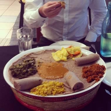 Jambo Jambo Ethiopian restaurant vegan Sydney Australia