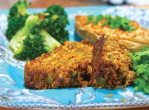 Vegan Recipe - Savory Seitan Loaf