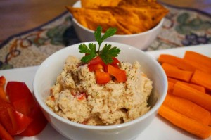 Vegan Recipe - White Bean Cashew Dip