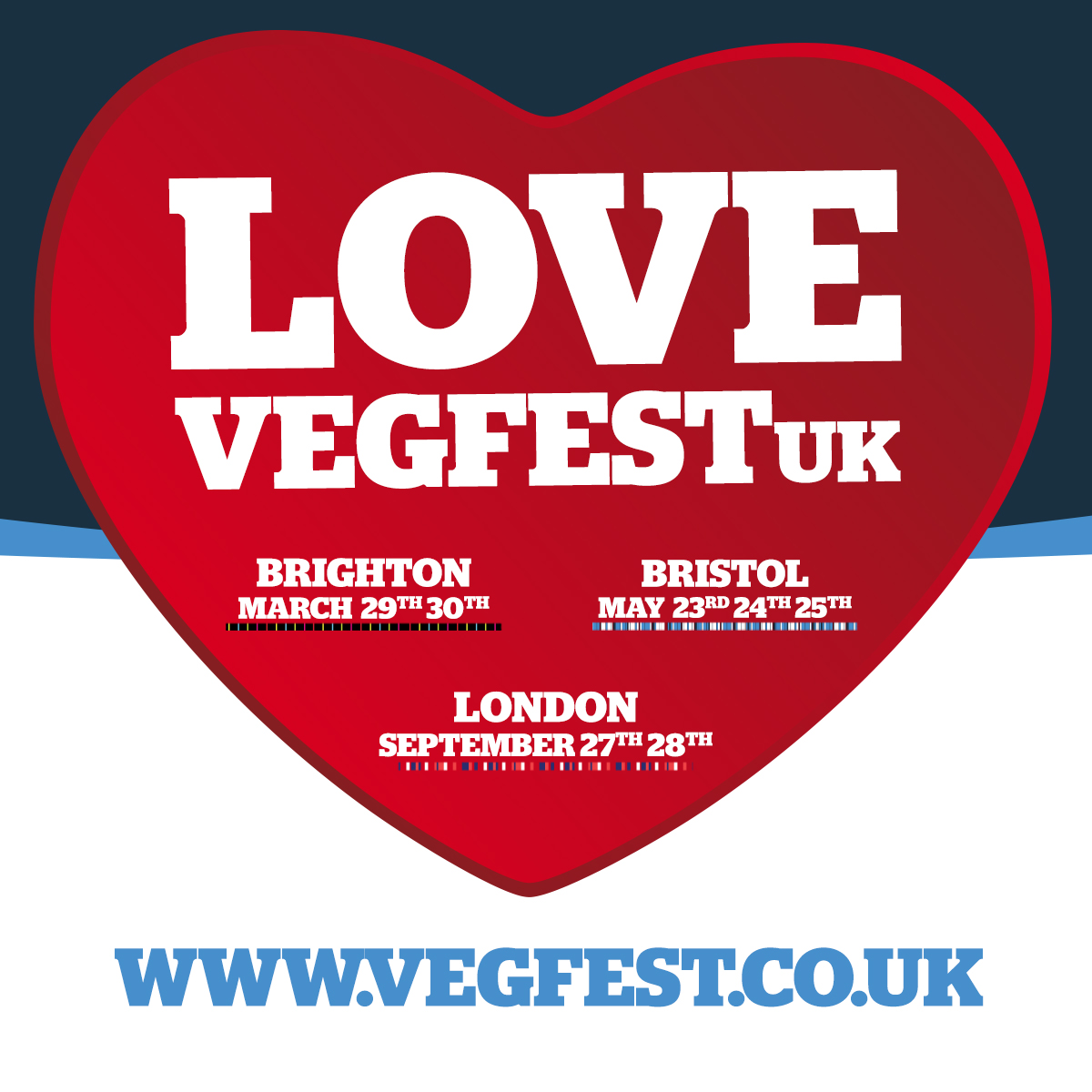 Vegfest UK:  Brighton, Bristol, London, and More!