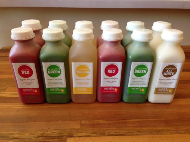 Embody Natural Health Juice Cafe + Studio