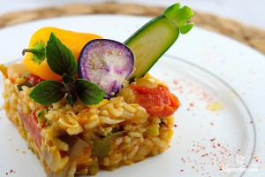 Vegan Recipe - Mediterranean Risotto