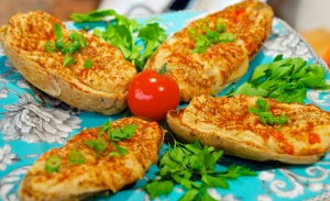 Vegan Recipe - Twice Baked Potatoes