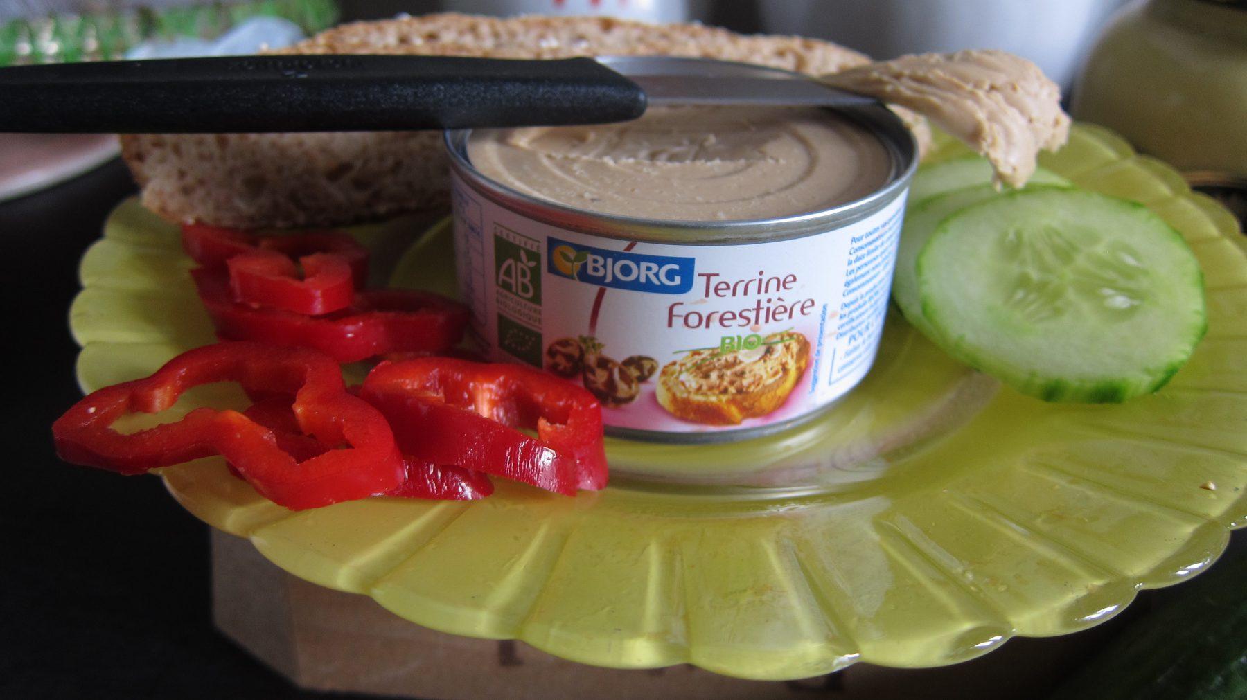 Vegan Pâté: Bjorg Terrines Végétales!