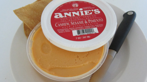 Annie's Cashew, Sesame and Pimento Spread