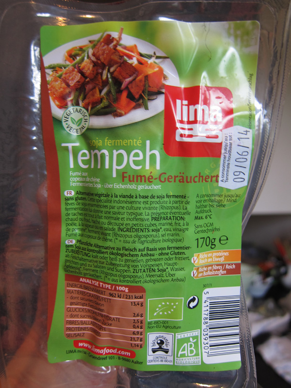 Lima Smoked Tempeh – Vegan Europe
