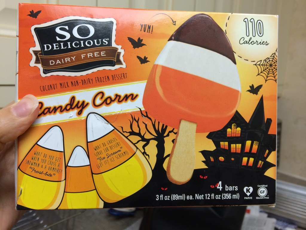 So Delicious Dairy Free Candy Corn Ice Cream Vegan