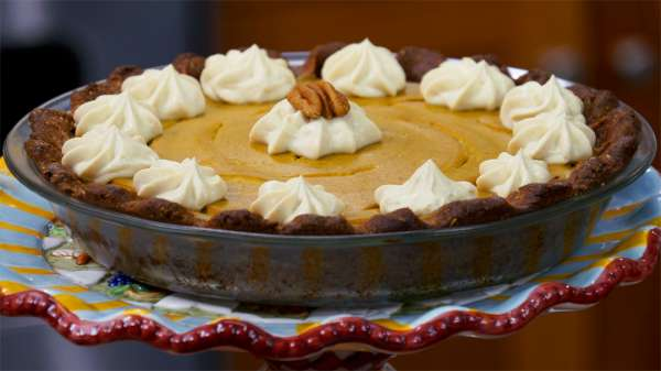 Pumpkin Pie Gluten-Free AND Vegan