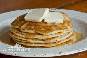 Vegan Recipe - Pancakes with Maple Syrup