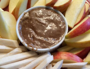 Vegan Recipe - Super-Food Lucuma and Almond Butter Dip