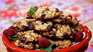 Vegan Recipe - Chocolate Chip Oatmeal Cookies