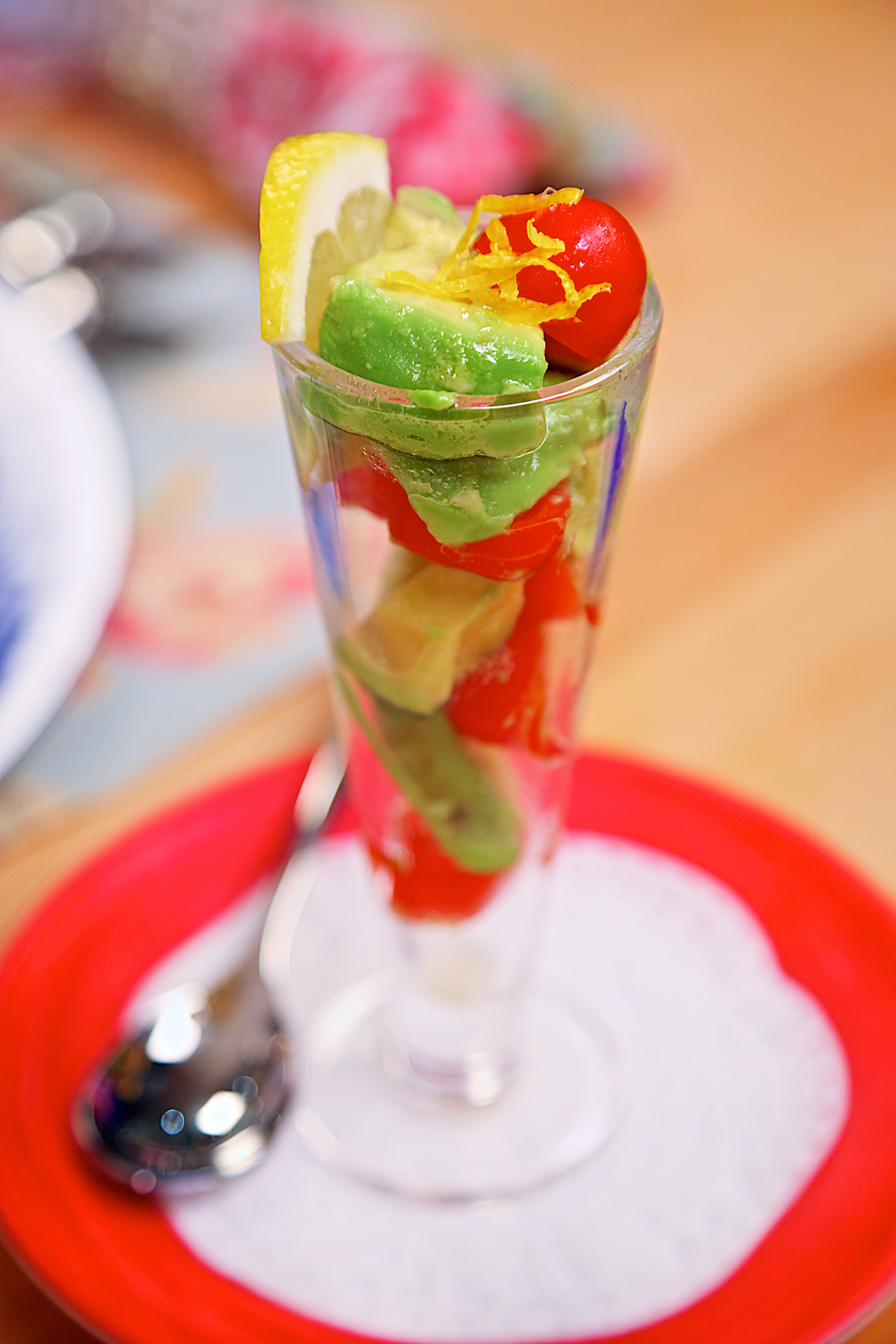 Vegan Recipe - Avocado Salad Parfait