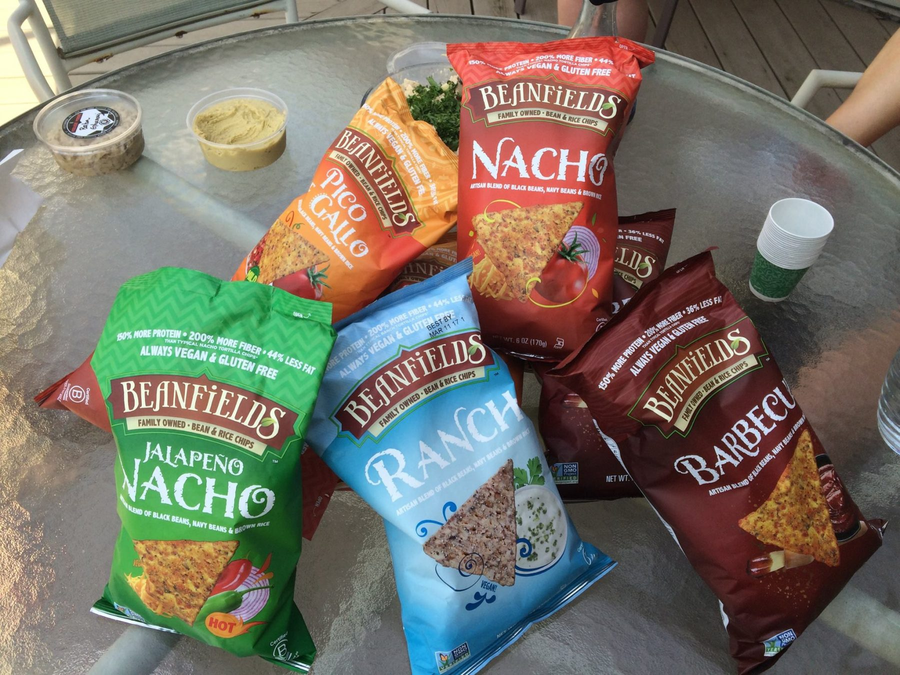 Beanfield's Vegan Chips Made from Rice and Beans!
