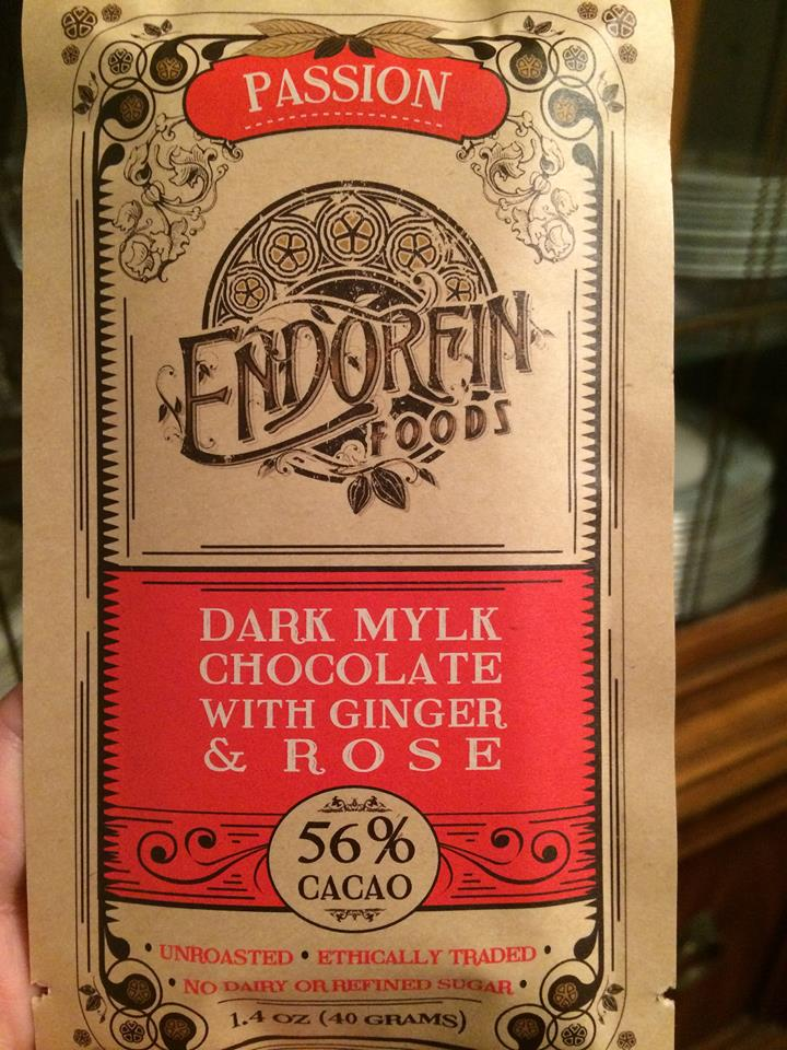 endorfin vegan chocolate
