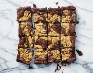 Vegan Recipe - Peanut Butter Brownies
