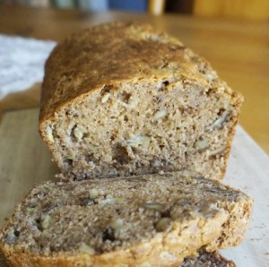 Vegan Recipe - Banana Walnut Bread